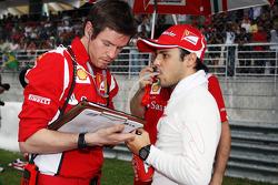 Felipe Massa, Ferrari op de grid