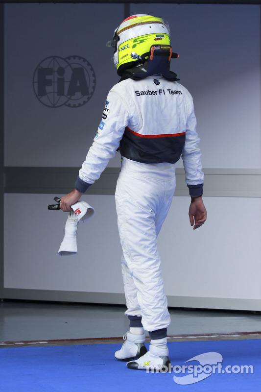 Sergio Pérez, Sauber Ferrari