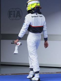 Sergio Perez, Sauber Ferrari