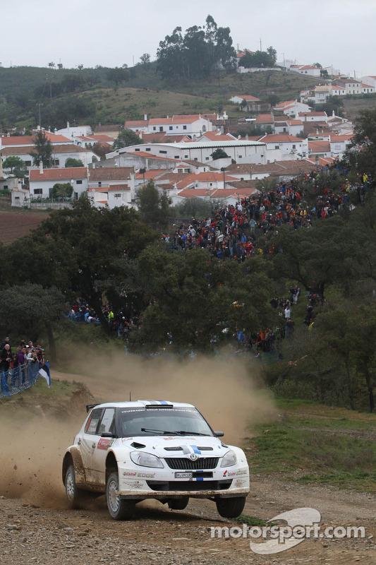 Sébastien Ogier and Julien Ingrassia, Skoda Fabia S2000, Volkswagen Motorsport