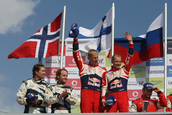 Excluded winners Mikko Hirvonen and Jarmo Lehtinen, Citroën DS3 WRC, Citroën Total World Rally Team