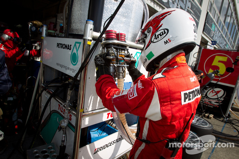 Lexus Team Petronas tankman
