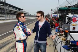 Marco Andretti, Andretti Autosport Chevrolet and James Hinchcliffe, Andretti Autosport Chevrolet