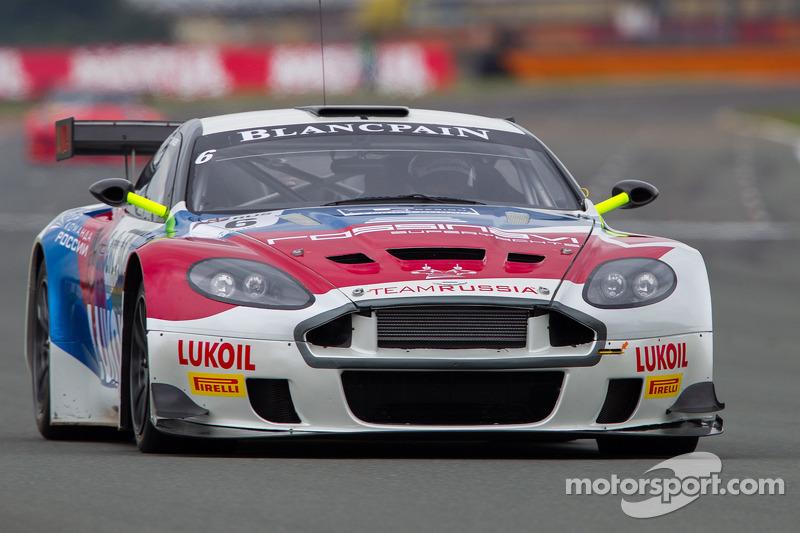 #6 Valmon Racing Team Russia Aston Martin DBRS9: Andreas Zuber, Sergey Afanasyev