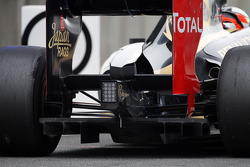 Kimi Raikkonen, Lotus rear diffuser detail