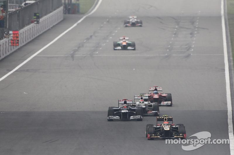 Romain Grosjean, Lotus F1 voor Pastor Maldonado, Williams