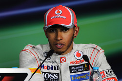 Press conference: third place Lewis Hamilton, McLaren
