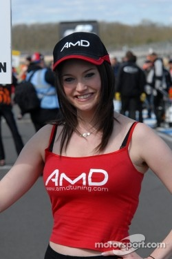 AmDTuning.com Grid Girl