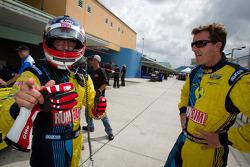 GS provisional pole winners Nick Longhi and Matt Plumb