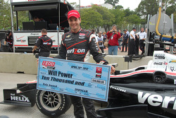 Polesitter Will Power, Verizon Team Penske Chevrolet