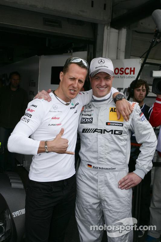 Michael Schumacher und Ralf Schumacher