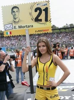 Gridgirl of Edoardo Mortara, Audi Sport Team Rosberg Audi A5 DTM