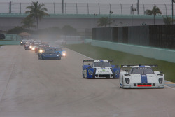 Pace lap for DP