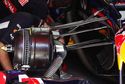 Red Bull Racing brake detail