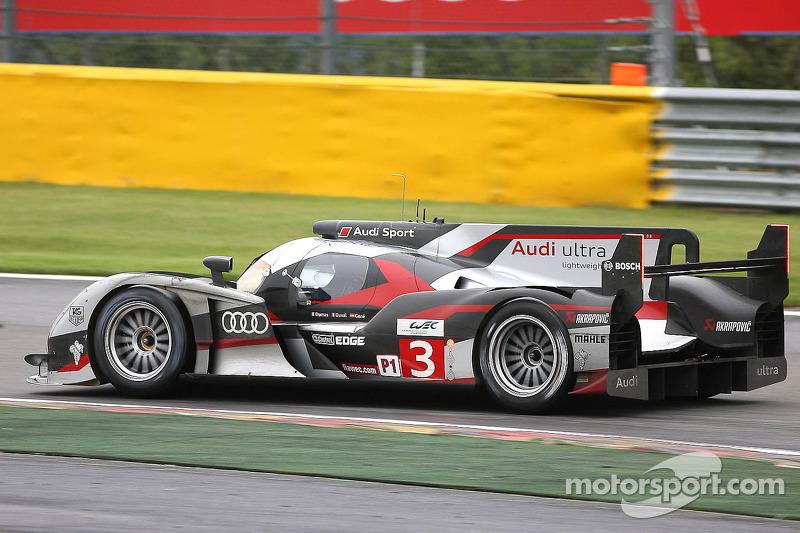 #3 Audi Sport Team Joest Audi R18 Ultra: Romain Dumas, Loic Duval, Marc Gene