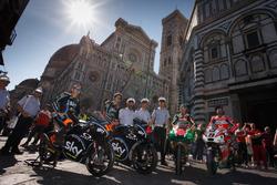 Андреа Миньо, Франческо Банья, Сэм Лоус, Aprilia Racing Team Gresini, Данило Петруччи, Pramac Racing