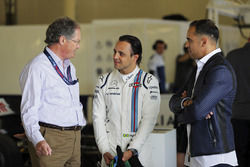 Frank Dernie, Felipe Massa, Williams, Pastor Maldonado