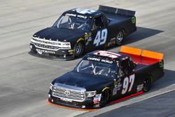 Jesse Little, Toyota Tundra and Wendell Chavous, Premium Motorsports Chevrolet