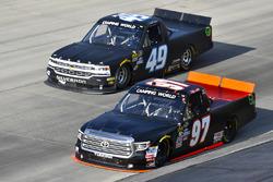 Jesse Little, Toyota; Wendell Chavous, Premium Motorsports, Chevrolet