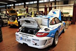 Olivier Gillet, Jean Dériaz, Porsche 997 GT3, Lugano Racing Team