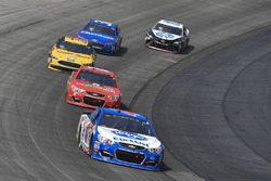 A.J. Allmendinger, JTG Daugherty Racing Chevrolet, Ross Chastain, Premium Motorsports, Delaware Office of Highway Safety - Protect Your Melon Chevrolet SS, Matt DiBenedetto, Go Fas Racing Ford