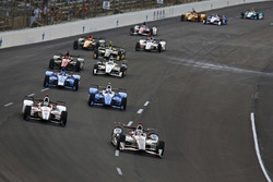 Will Power, Team Penske Team Penske Chevrolet, Tristan Vautier, Dale Coyne Racing Honda