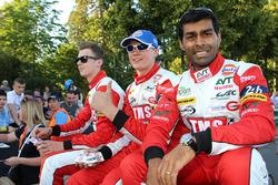 Nigel Moore, Philip Hanson, Karun Chandhok, Tockwith Motorsports