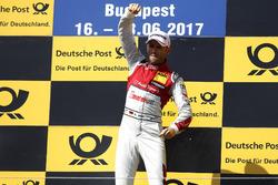 Podio: Ganador de la carrera René Rast, Audi Sport Team Rosberg, Audi RS 5 DTM