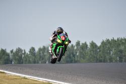 #3 AM Moto Racing Competition, Kawasaki: Alexandre Ayer, Jonathan Hugot