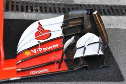 L'aileron avant de la Ferrari SF70H