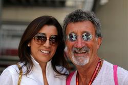 Fabiana Ecclestone, Eddie Jordan, Channel 4 F1 TV