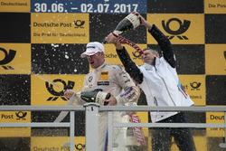 Podium:  Maxime Martin, BMW Team RBM, BMW M4 DTM, Bart Mampaey, BMW Team RBM