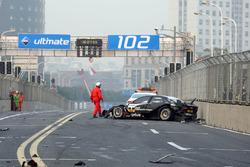 Timo Scheider, Audi Sport Team Abt choque