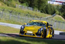 Max', 'Jens', Daniel Mursch, Porsche Cayman GT4 Clubsport