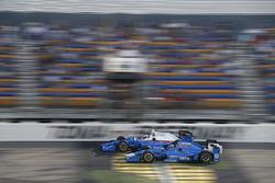 Scott Dixon, Chip Ganassi Racing Honda Tony Kanaan, Chip Ganassi Racing Honda