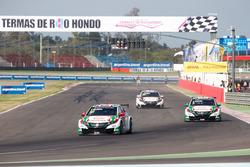 A JAS Honda versenyzői Argentínában