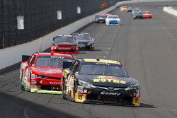 Jeb Burton, JGL Racing Toyota and Ross Chastain, JD Motorsports Chevrolet