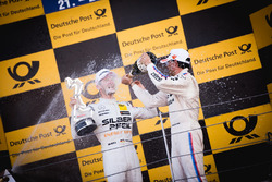 Podium:  Maro Engel, Mercedes-AMG Team HWA, Mercedes-AMG C63 DTM en Bruno Spengler, BMW Team RBM, BMW M4 DTM