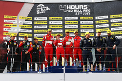 GTE Podyum: Yarış galibi #55 Spirit of Race, Ferrari F488 GTE: Duncan Cameron, Matt Griffin, Aaron Scott, 2. #66 JMW Motorsport, Ferrari F458 Italia: Robert Smith, Rory Butcher, Jody Fannin, 3. #90 TF Sport, Aston Martin V8 Vantage: Salih Yoluc, Euan Hankey, Nicki Thiim