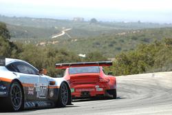 #44 Flying Lizard Motorsport Porsche 911 GT3 RSR Porsche: Seth Neiman, Marco Holzer #007 Aston Martin Racing Aston Martin Vantage: Adrian Fernandez, Darren Turner