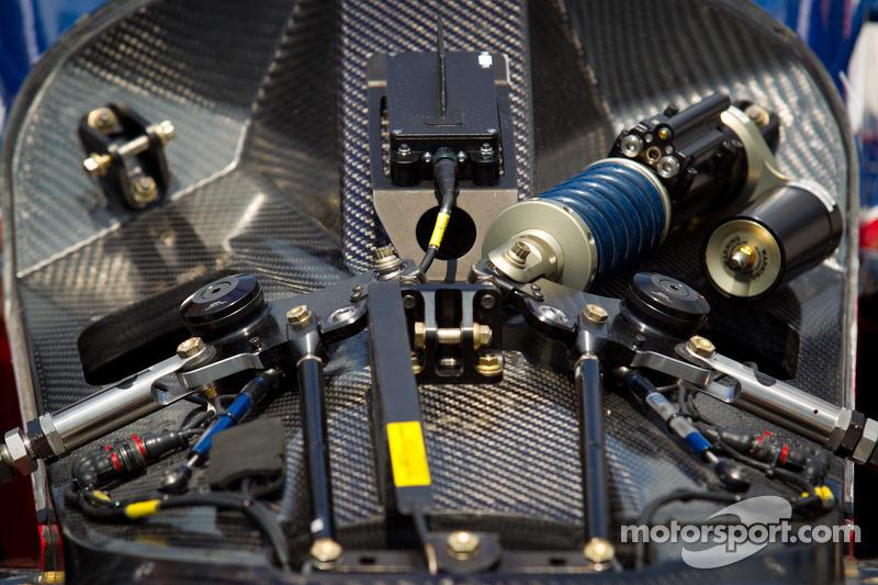 Suspension detail, car of Marco Andretti, Andretti Autosport Chevrolet
