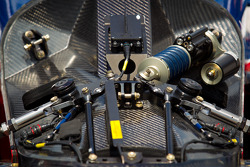 Suspension detail, car of Marco Andretti, Andretti Autosport Chevrolet