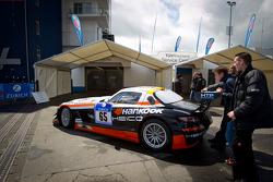 #65 Hankook-Team Heico Mercedes-Benz SLS AMG GT3 at technical inspection