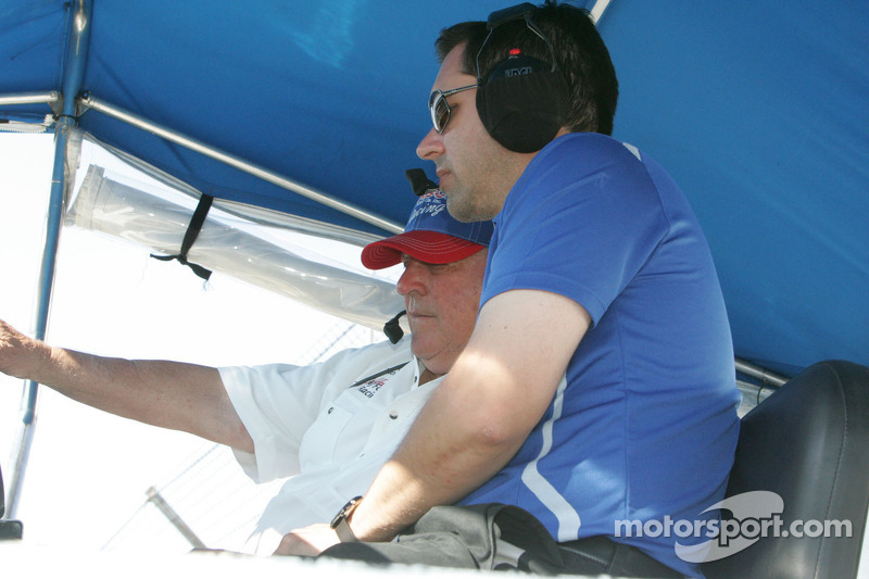 A.J. Foyt and Larry Foty, A.J. Foyt Racing