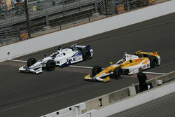 Katherine Legge, Dragon Racing Chevrolet and Ryan Hunter-Reay, Andretti Autosport Chevrolet