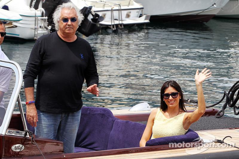 Flavio Briatore met Elisabetta Gregoraci