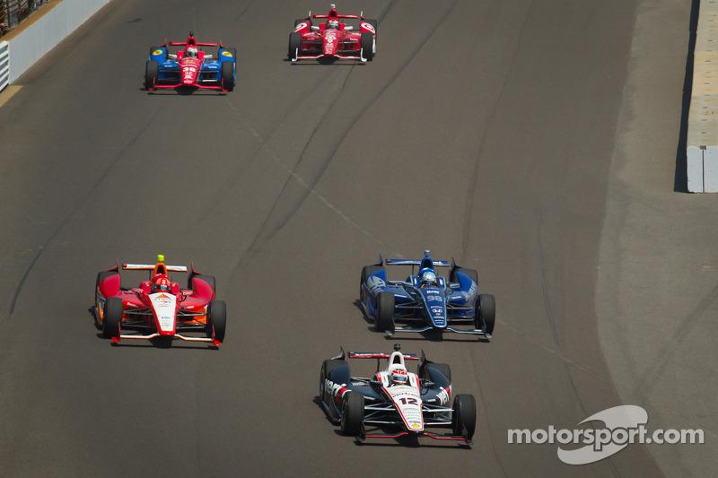 Will Power, Verizon Team Penske Chevrolet, EJ Viso, KV Racing Technology Chevrolet, Alex Tagliani, Team Barracuda - BHA Honda