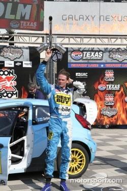 Race winner Marcus Gronholm at Global Rallycross in 2012 Texas event