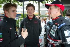 Alex Brundle, Lucas Ordonez and Martin Brundle