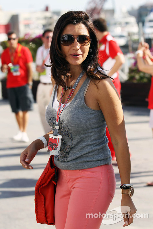 Prime Motor Group >> Fabiana Flosi, fiance of Bernie Ecclestone, CEO Formula One Group at European GP